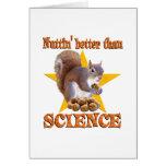Ardilla de la ciencia felicitacion