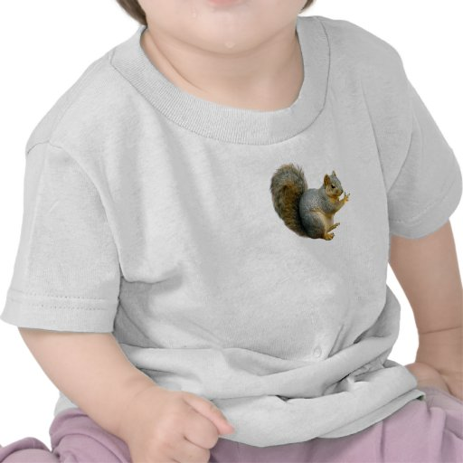 Ardilla de la paz camisetas