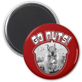Ardilla de la reunión - mascota oficiosa de St. Lo Imanes Para Frigoríficos