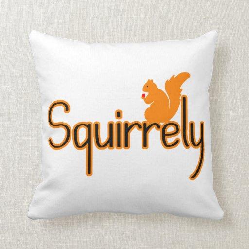 Ardilla de Squirrely Almohadas