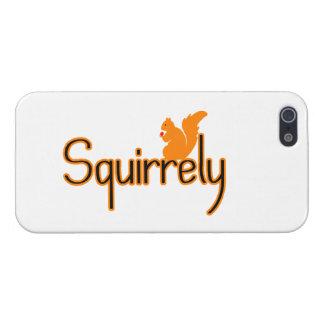 Ardilla de Squirrely iPhone 5 Fundas