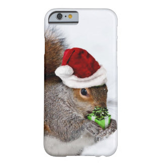 Ardilla del navidad funda de iPhone 6 barely there
