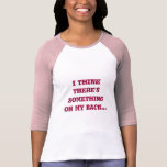 ARDILLA EN MI camisa divertida TRASERA