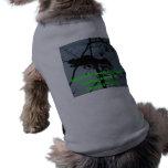 Ardilla en un árbol - camisetas de los imanes de l camiseta de mascota
