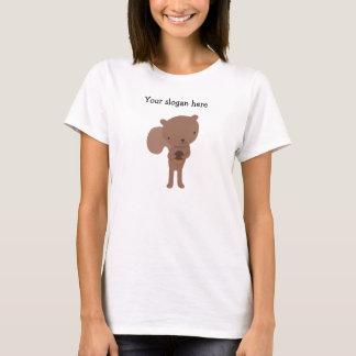 Ardilla linda adaptable T-shir de la camiseta de