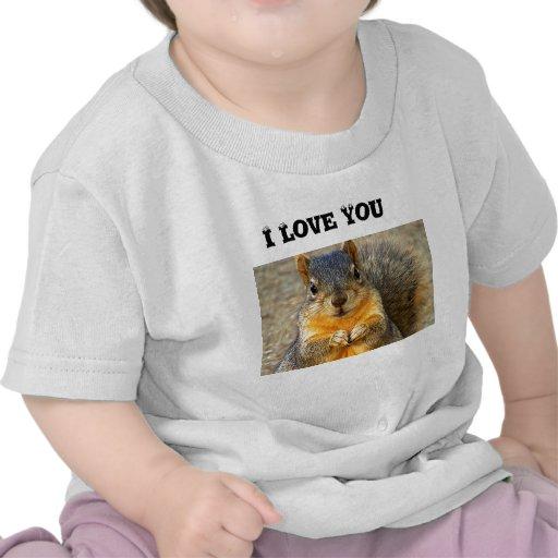 Ardilla Love_ Camiseta
