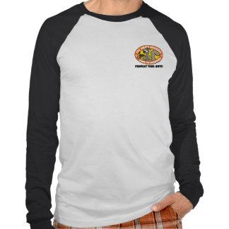 Ardilla rabiosa Kung Fu - camisa 2