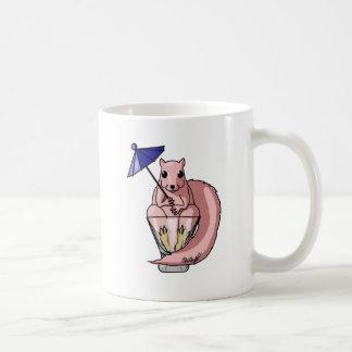 Ardilla rosada taza