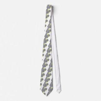 Ardilla y nuez corbata