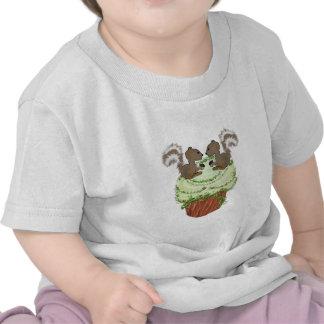 Ardillas de la magdalena camisetas