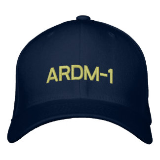 ARDM-1 Hat Embroidered Baseball Cap
