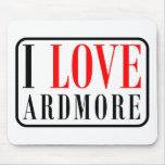 Ardmore, diseño de la ciudad de Alabama Tapetes De Ratón