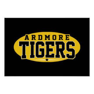 Ardmore High School; Tigers Posters