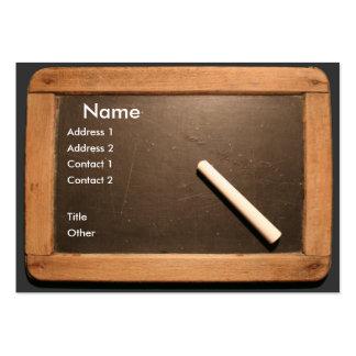 Ardoise #01 tarjeta de negocio