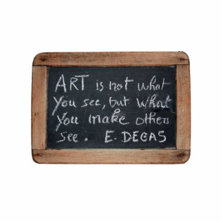 Ardoise #03 - Artist's Quotes - Degas Photo Cut Outs