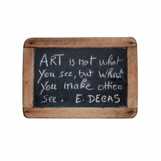 Ardoise #03 - Las citas del artista - desgasifique Pin Fotoescultura