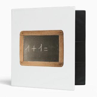 Ardoise #04 - Mathematical Lessons 3 Ring Binder