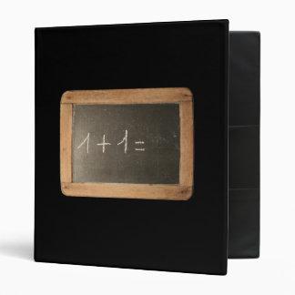Ardoise 04 Mathematical Lessons Black Binder