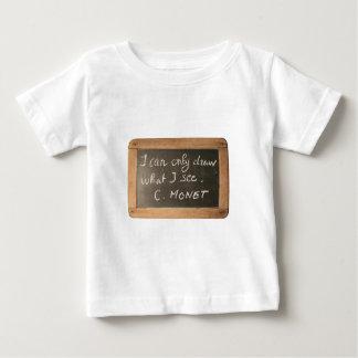 Ardoise #05 - Monet's Quote Infant T-shirt