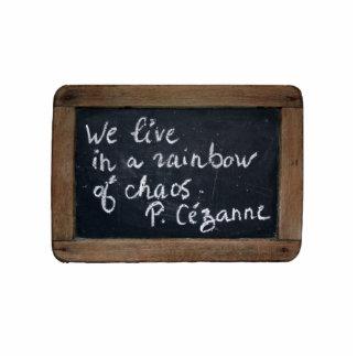 Ardoise #08 - Cezanne's Quote Photo Sculpture