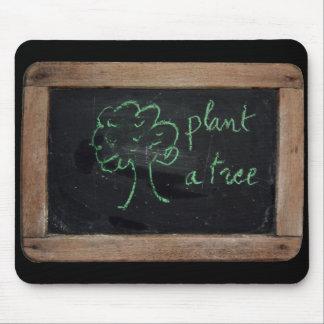 Ardoise #12 - Plante un árbol Alfombrilla De Ratones