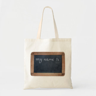 Ardoise - My Name is... Personalizable Bag
