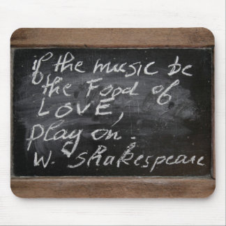 Ardoise - W. Shakespeare's Quote - Mouse Pad