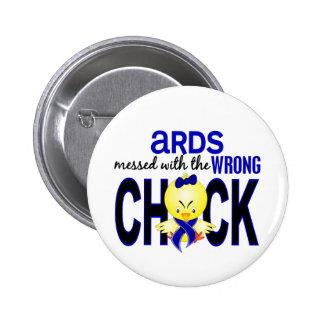 ARDS ensuciado con el polluelo incorrecto Chapa Redonda 5 Cm