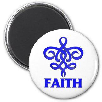 ARDS Faith Fleur de Lis Ribbon Fridge Magnet