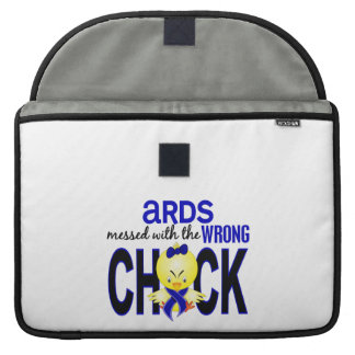 ARDS Messed With Wrong Chick MacBook Pro Sleeve