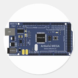 Arduino Mega Classic Round Sticker