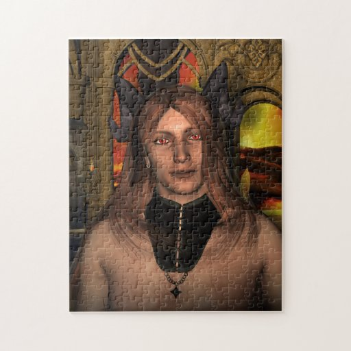 Ardyan at Home Demon Fantasy Jigsaw Puzzle