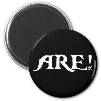 Are! 2 Inch Round Magnet