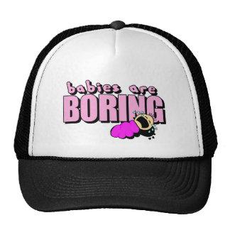 are boring! trucker hat