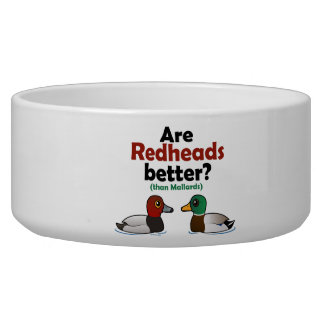 Are Redheads better? Bowl