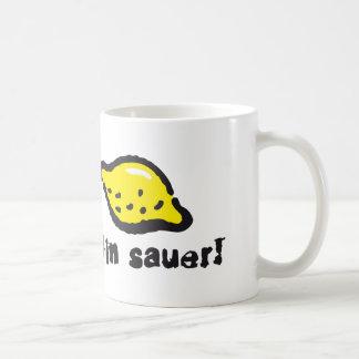 Are sour classic white coffee mug