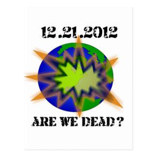 are_we_dead__world postcard