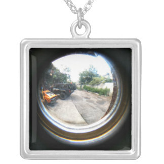 Are We Expecting Someone? Silver Plated Necklace