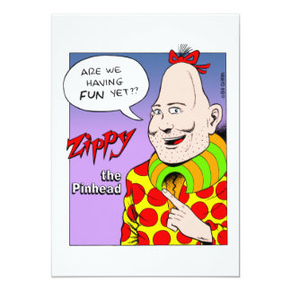 Are We Having Fun Yet? 5x7 Paper Invitation Card