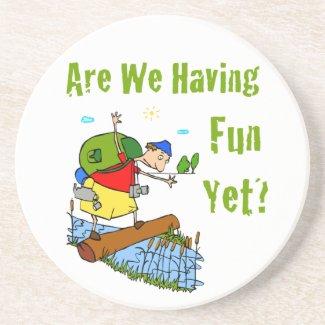 Are We Having Fun Yet? Coaster coaster