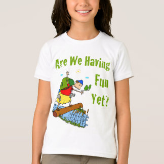 Are We Having Fun Yet? Kid's T-Shirt