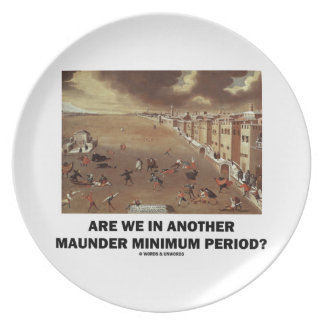 Are We In Another Maunder Minimum Period? Plate