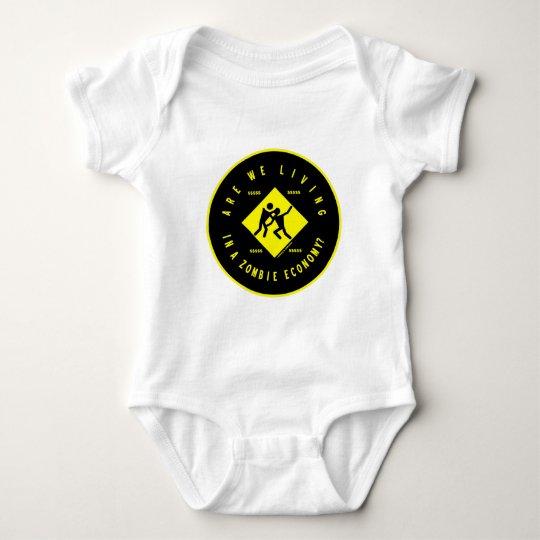 Are We Living In A Zombie Economy? (Econ Humor) Baby Bodysuit