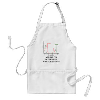 Are We On Different Wavelengths? (Chlorophyll) Adult Apron