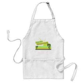 Are we there yet? adult apron