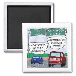 Are We There Yet? Refrigerator Magnets