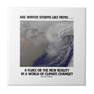 Are Winter Storms Like Nemo Fluke Or New Reality? Small Square Tile