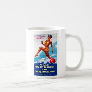Are You a Beading Hussy? Classic White Coffee Mug