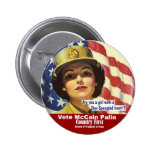 Are you a girl with a star spangled heart?  Button