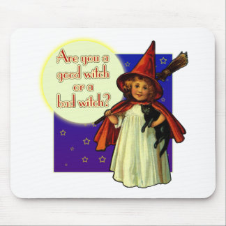 Are You a Good Witch Mouse Pad